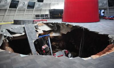 Corvette sink hole