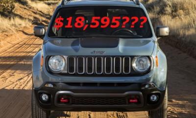 2015 jeep renegade pricing