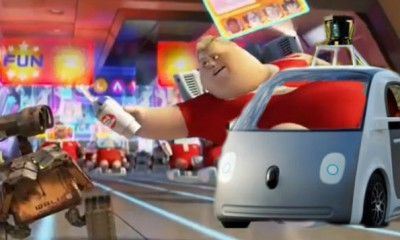 google car wall-e fat people