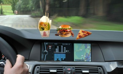 foods to eat while driving