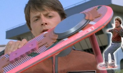 Looks Like Marty Went Back to the Actual Future - Hoverboards Are Almost Here