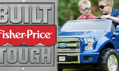 ford f-150 fisher price toy