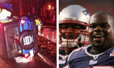 Vince Wilfork Saves Woman Trapped in Car