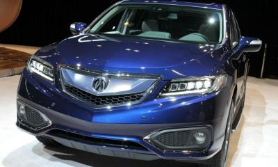 2016 acura RDX Chicago Auto Show