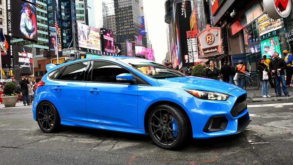 2016 Ford Focus Rs Official Pricing And
