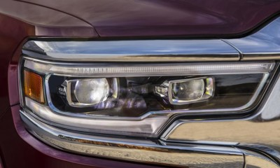 2018 dodge ram headlight